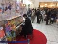 品川駅構内のピアノ