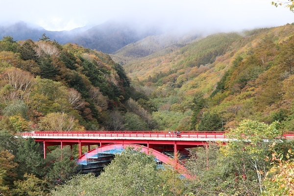2018.11.29 信州旅行2日目③ 赤い橋-3