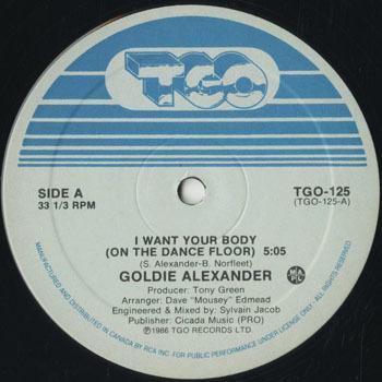 DG_GOLDIE ALEXANDER_I WANT YOUR BODY_20181125