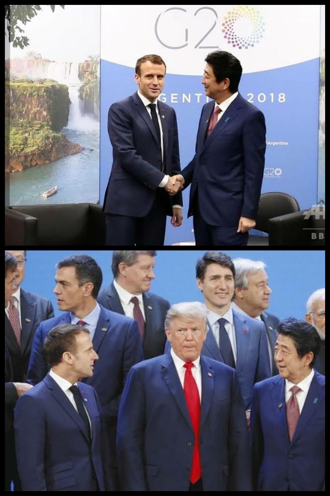 安倍マクロン日仏首脳会談ルノー日産三菱