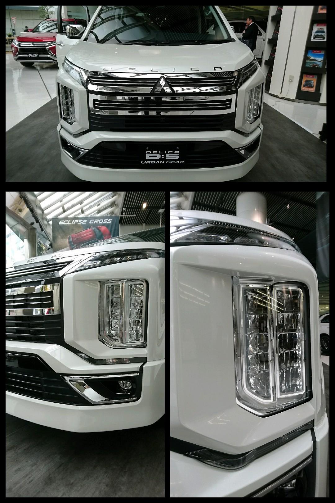 新型デリカD:5 2019モデル 三菱 アーバンギア