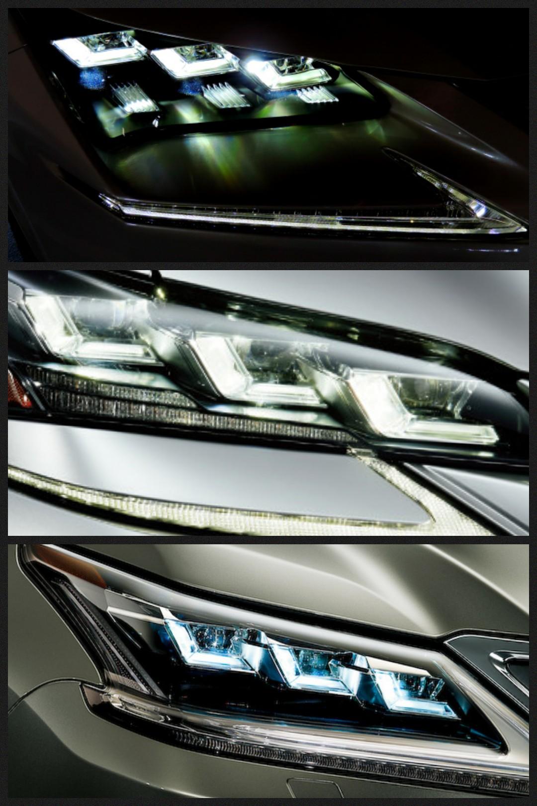 レクサス LEDヘッドライト