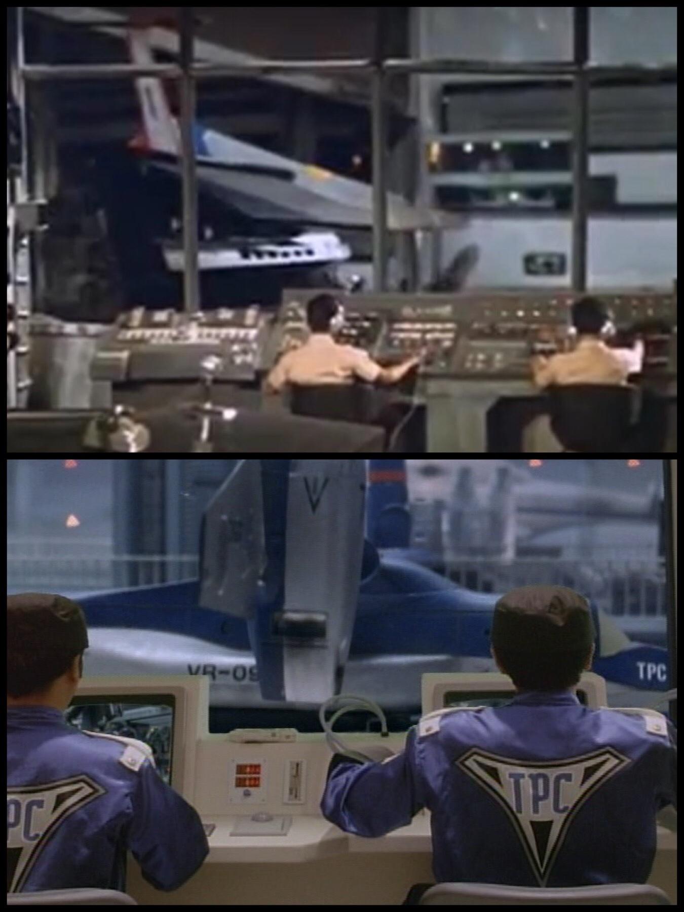 ウルトラ警備隊 管制室