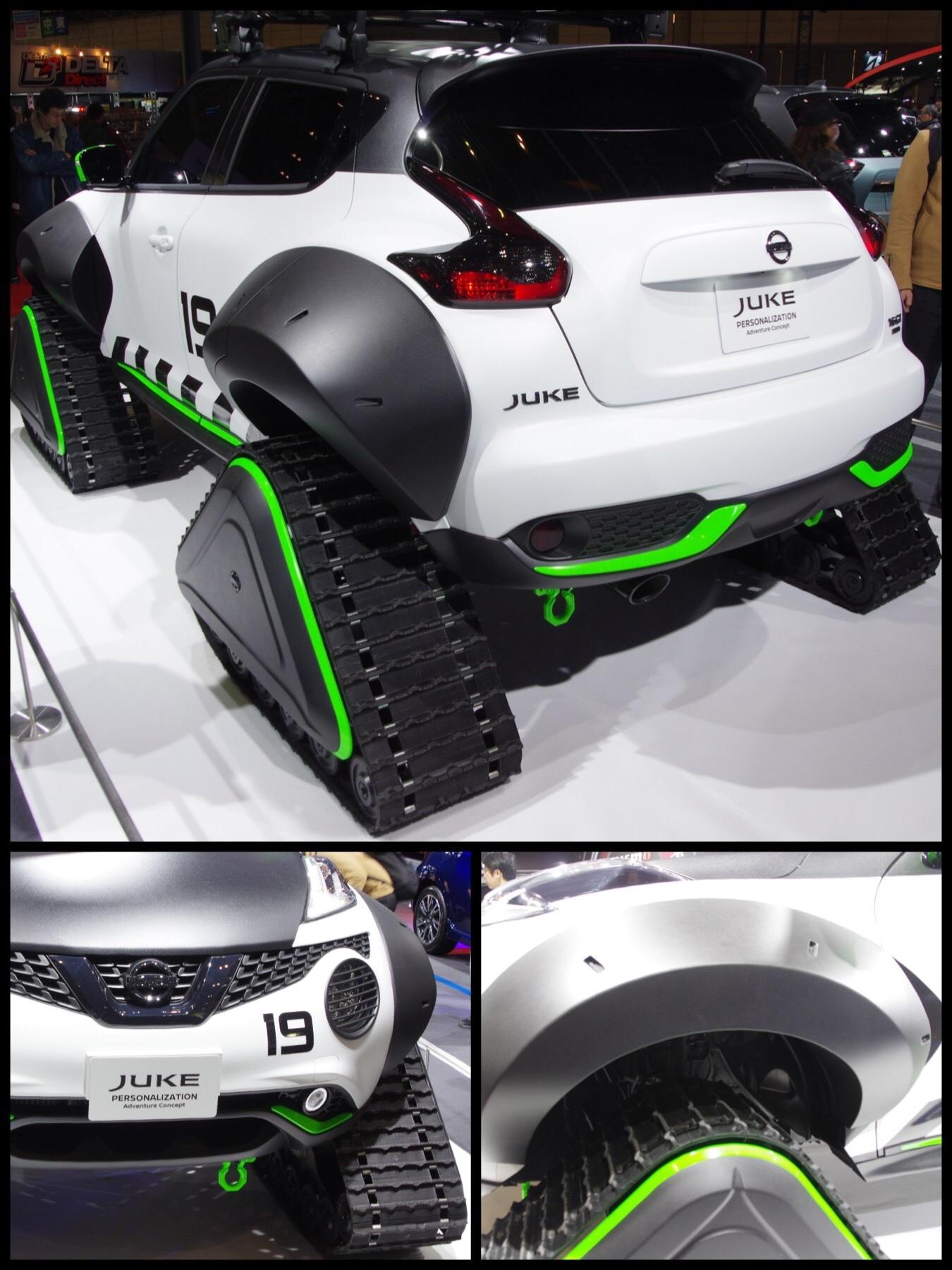 東京オートサロン2019 日産 juke personalization adventure concept