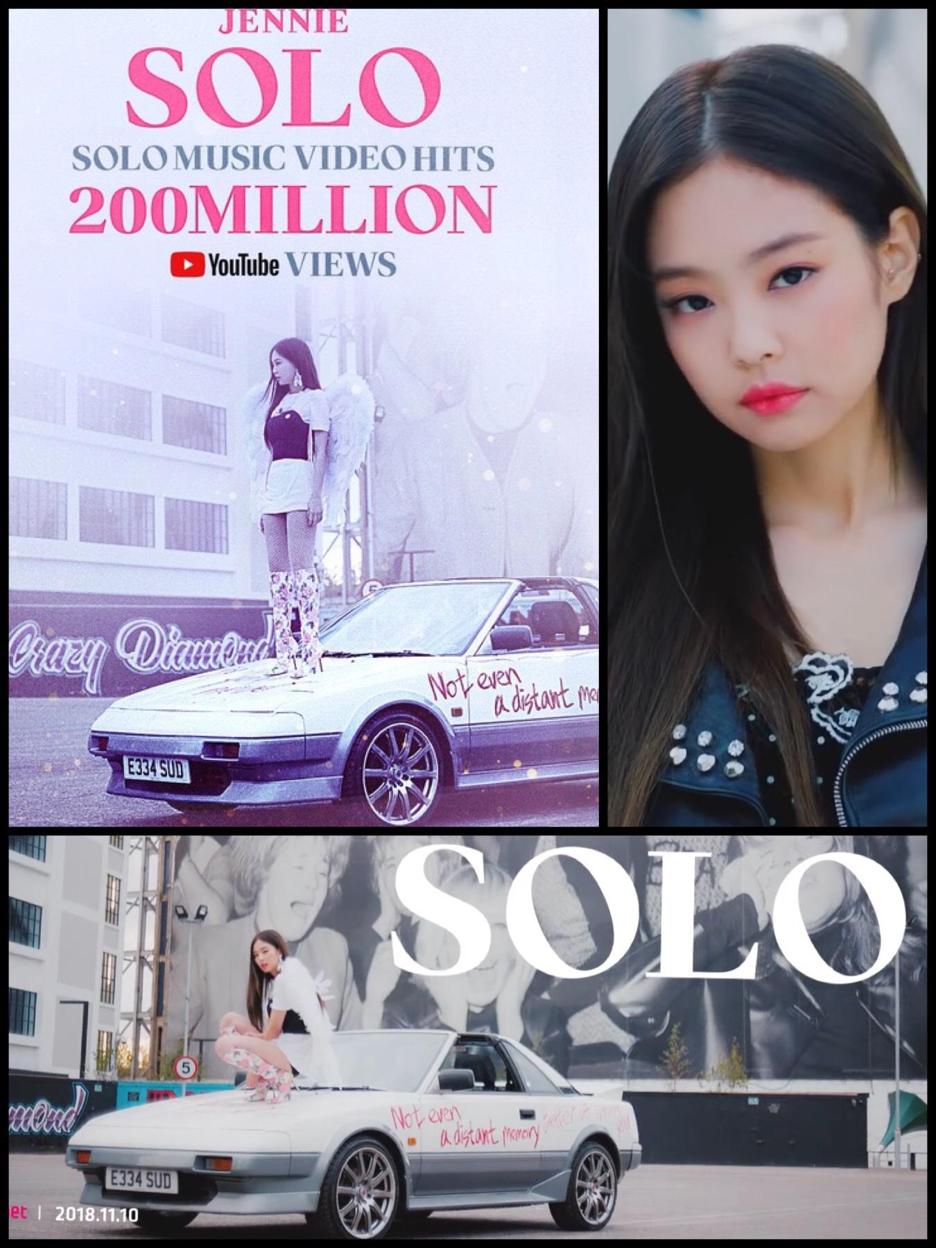 blackpink ジェニー jenny solo トヨタMR 2