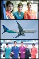 ガルーダインドネシア航空 三菱エクスパンダー