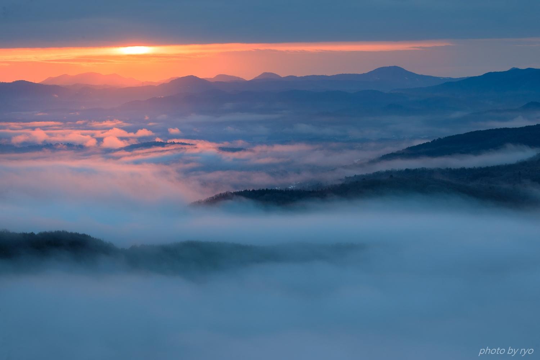 隙間太陽の朝