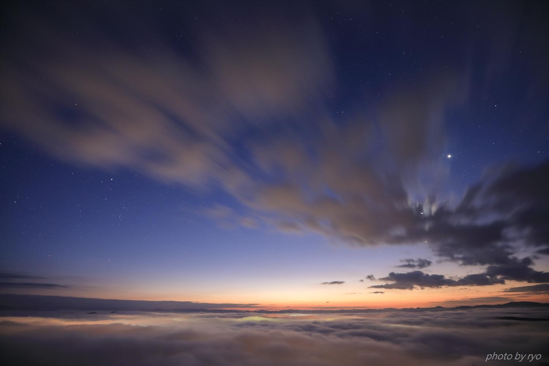 三日月の朝~隙間太陽_2