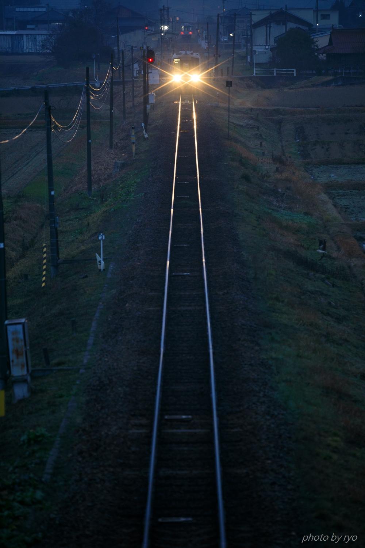 列車交換の後にa