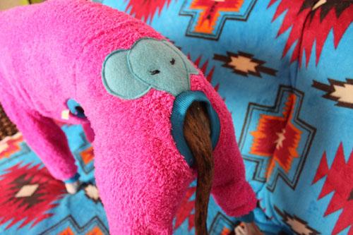 ゾウさんピンク3