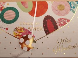 【写真】ベルアメールのバレンタインギフトの外箱