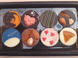 【写真】ベルアメールのパレショコラ8種類