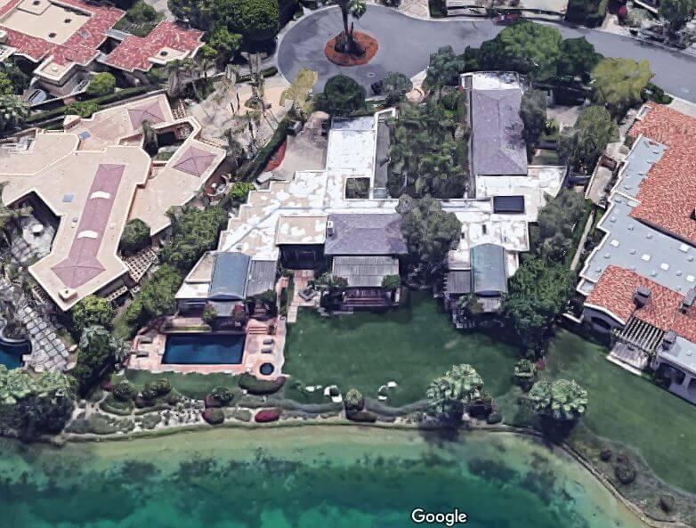 Koch Industries チャールズ・コーク、フロリダ州空撮1