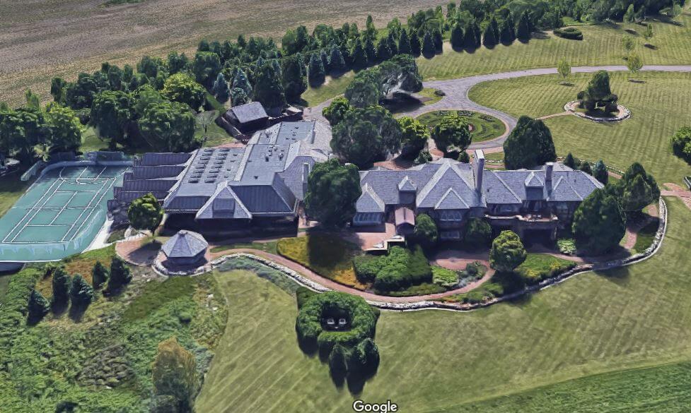 Koch Industries デイビッド・コーク、ミネソタ州空撮1