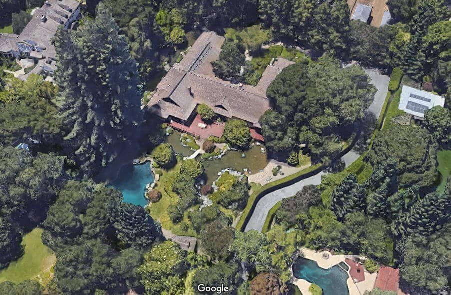 オラクル ラリー・エリソン カリフォルニア2空撮