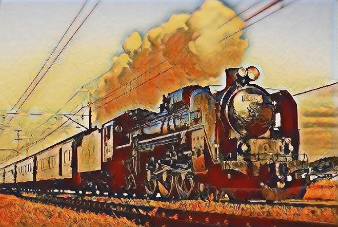 勇気は機関車 自信は客車