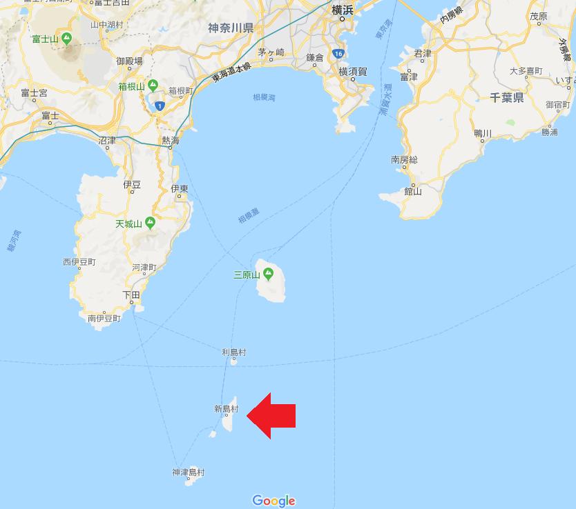 新島の場所