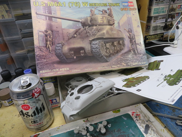 M4A1(76)W 48 Hobby Boss