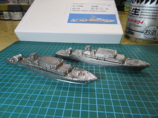 MSO-304 あわじ と MSO-305 ひらど 船体