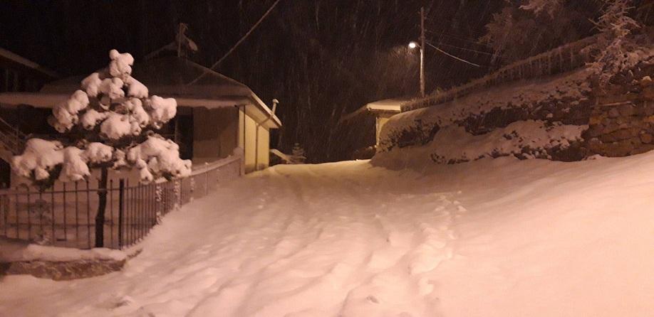 ミーママのダンサー友達がトルコの雪景色送ってくれましたトルコの田舎も大雪