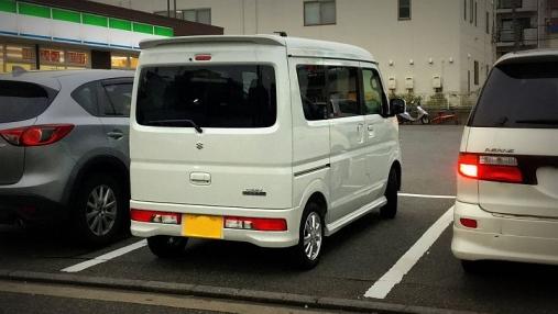 suzukiエブリイワゴン (1)