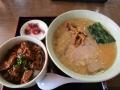 みそ伝ラーメン+ミニチャーシュー丼