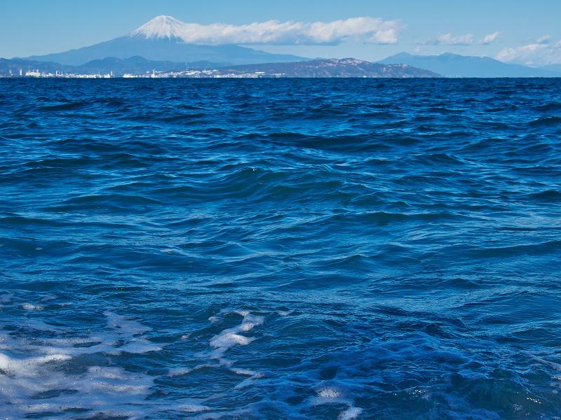 焼津の海、そして富士山