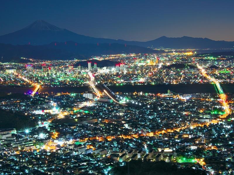 黎明の富士