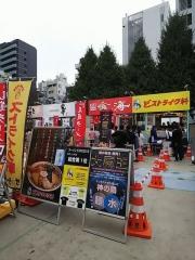 大つけ麺博 10周年特別企画 ラーメン日本一決定戦!! ~特級鶏蕎麦 龍介「W龍介つけそば」~-14
