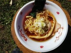松戸ラーメンサミット 2018 ~手打 焔(ほむら) 「名古屋コーチンを使用した鶏ラーメン」~-4