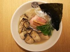 むぎくらべ【参】 ~寿製麺 よしかわ 「牡蠣そば」+「牡蠣3個増し」×2~-6