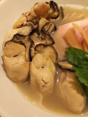 むぎくらべ【参】 ~寿製麺 よしかわ 「牡蠣そば」+「牡蠣3個増し」×2~-9