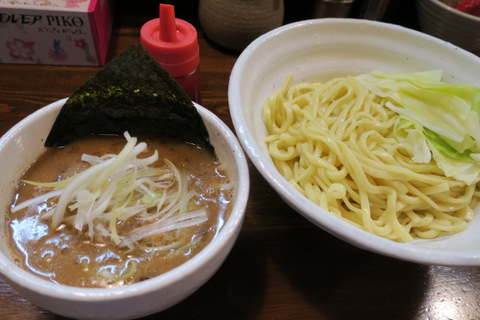「」(四種のつけ麺)
