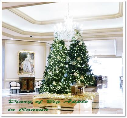 リッツカールトンホテルのtree
