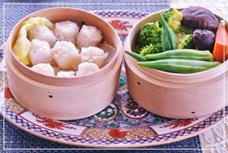 焼売&蒸し野菜