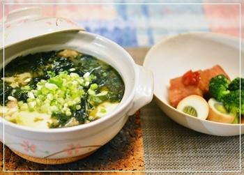 和布スープ
