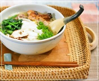 風邪ひきの食事1