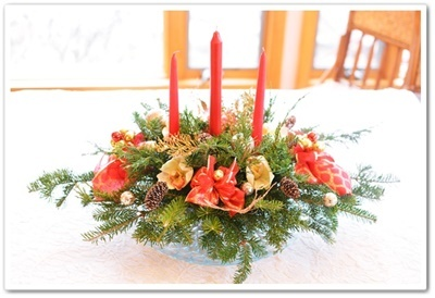 Christmas centerpiece 1