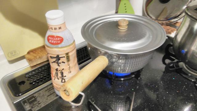 雑煮を煮る