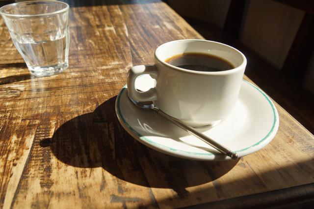 夏の扉のコーヒー