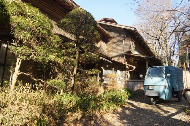 鎌田鳥山とベスパカー