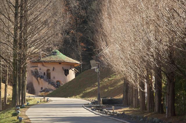 ムーミン谷を入口から