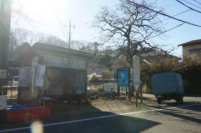大泉寺のバス停