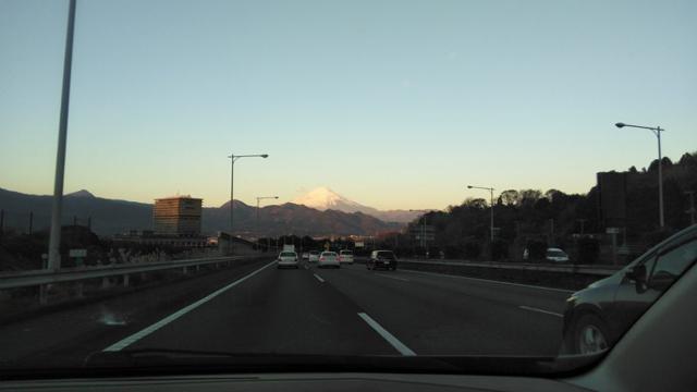 富士山を拝みながら