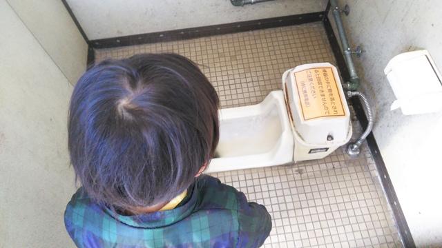 狭山にて ネポンパールトイレを見る