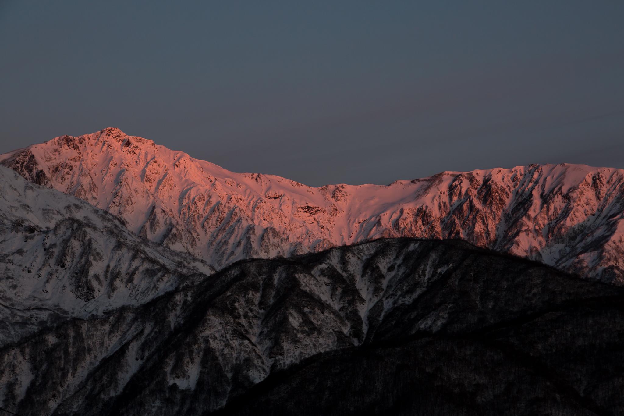 唐松岳登山 5Dmk3
