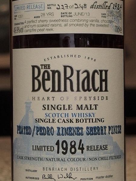BENRIACH 1984_L600