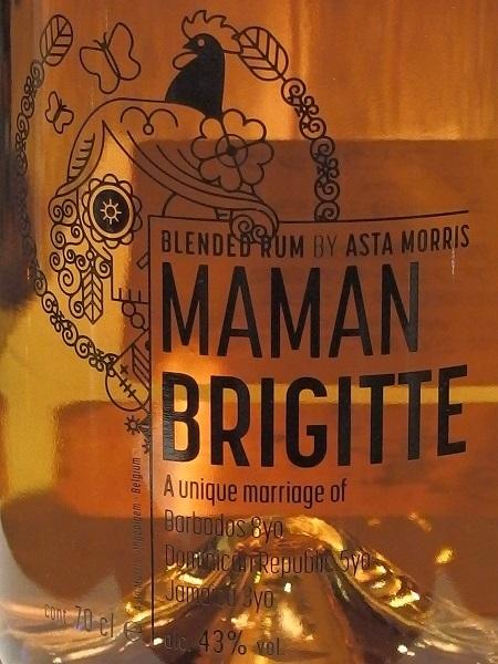 ASTA MORRIS Blended Rum MAMAN BRIGITTE_L600