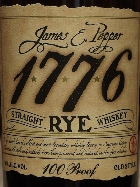 JAMES E PEPPER 1776 RYE_L600