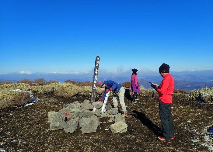 2019,1,3三俣山-12